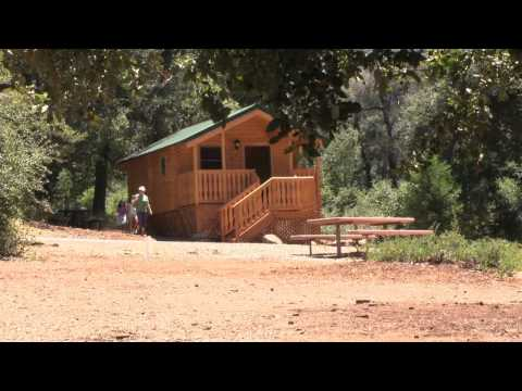 New Cabins at Heise County Park