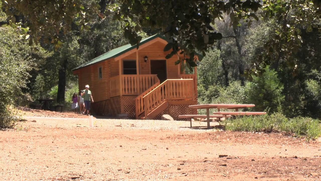 new cabins at heise county park youtube