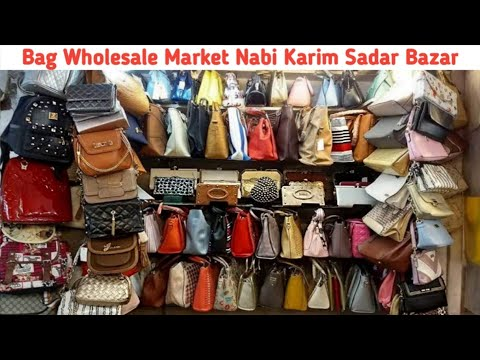 Sadar Bazar Bag Market | Nabi Karim Market Delhi | Ladies Purse Wholesale Market | Sadar Delhi