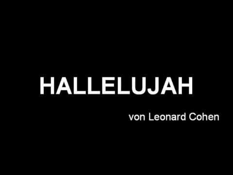 Hallelujah by Leonard Cohen (Piano Accompaniment)