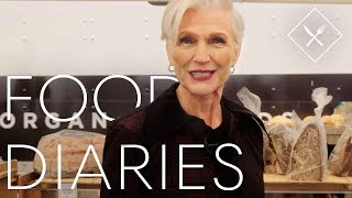 Everything 69 Year-Old Model Maye Musk Eats in a Day | Food Diaries | Harper