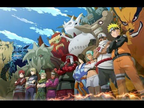 Naruto - All Jinchuriki (Their Owners) ( HD)