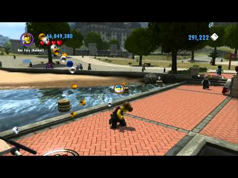 LEGO City Undercover 100% Guide - Crescent Park (Overworld Area) - All Collectibles