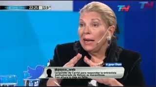 Elisa Carrió con Nelson Castro 04/06/2015