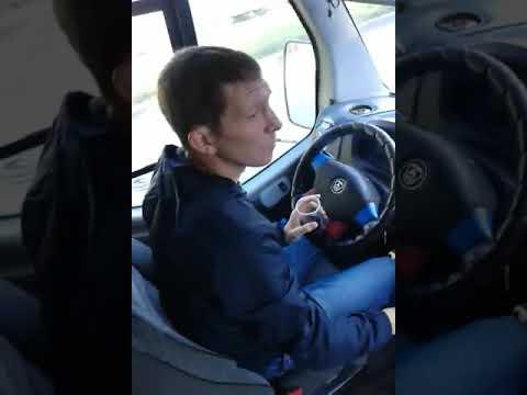Водитель маршрутки с сигаретой Рязань