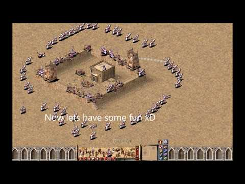 How to place/move units (fire balistas, catapults) on top of walls in stronghold crusader