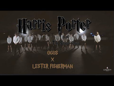 """Harris Porter And The Saucer Clone"" by Ogus X Lester Fisherman"