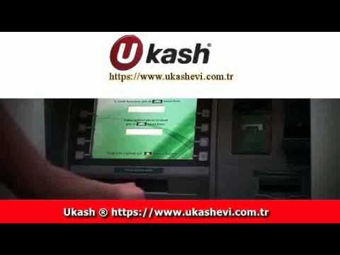 Garanti Bank ATM'sinden Ukash Kart için para yatırmak
