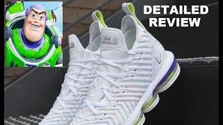 Nike Lebron 16 Buzz Lightyear Toy Story