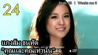 Seed Chart Top 20 - Thailand Top 50 Singles Of 2013