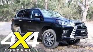 Lexus LX 570 Road Test 4X4 Australia