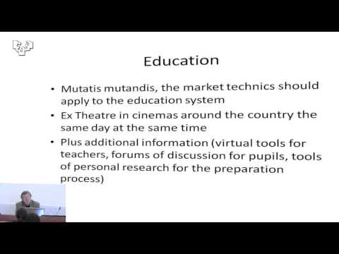 Education and cultural participation: the contribution of new technologies.