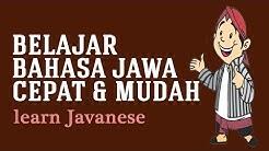 Belajar bahasa jawa cepat oleh Niken Larasati  ( learn Javanese )