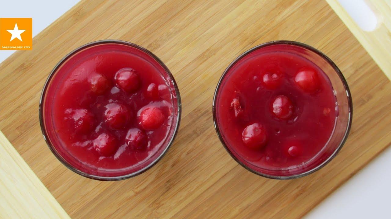рецепт вкусного вишневого киселя для детей