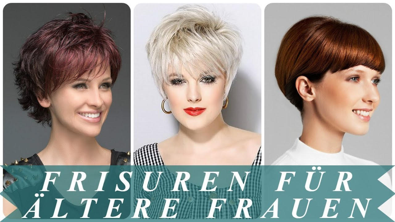 Verjungende Frisuren Fur Altere Damen 2018 Youtube