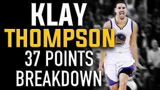 Klay Thompson 37 Points Breakdown: NBA Shooting Secrets