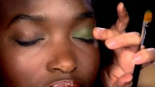 NARS Rich Green Eye Makeup Tutorial using the NEW NARS Eye Paint in Mozambique & Black Valley Thumbnail