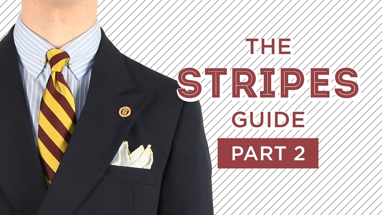 ce449489c0 Stripes in Menswear: Different Types and How to Wear Them — Gentleman's  Gazette