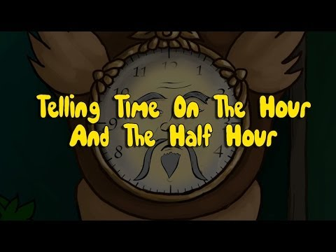 """Telling Time On The Hour and Half Hour"" Fairy Godfather Show Episode 1 - Part 4 & 5"