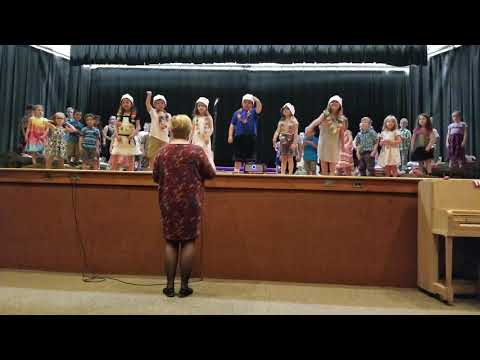 North Brookfield elementary school Kindergarten Musical