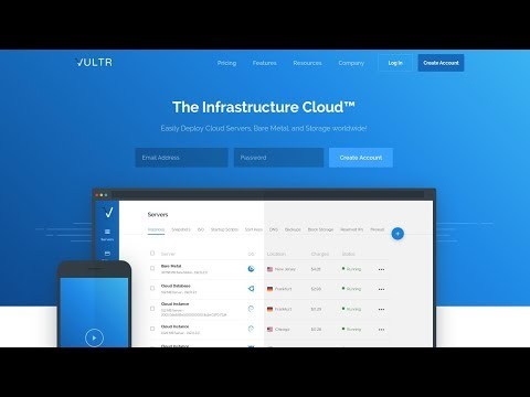 NEW) VULTR FREE TRIAL $110 PROMO 2019 👈 - YouTube