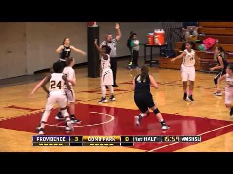 High School Girls Basketball: Providence Academy vs Como Park