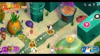 SpongeBob Block Party (Губка Боб вечеринка) - прохождение игры