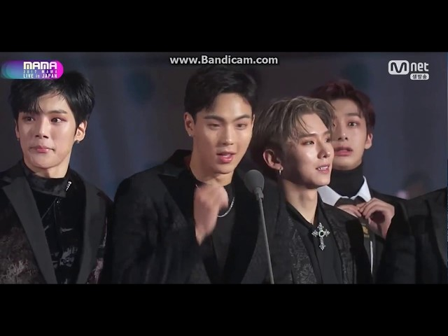 MONSTA X WINS BEST CONCERT PERFORMER MAMA 2017 IN JAPAN