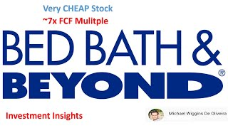 Bed bath & beyond: this stock is undervalued -- here's why
