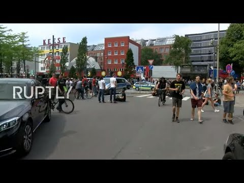 LIVE: Blockades against G20 Summit take place in Hamburg