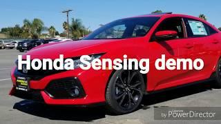 Honda Sensing package Demo.