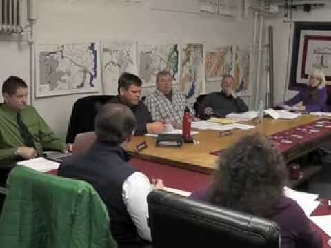 Ticonderoga Town Board Meeting  1-9-14