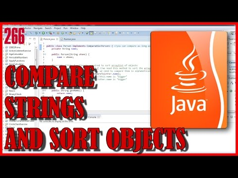 JAVA Compare strings alphabetically and sort objects in ArrayList