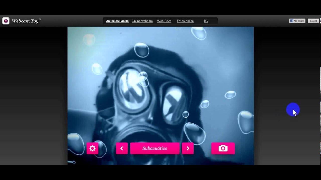 Toy Webcam Toy : Webcam toy como se usa y agregar efectos youtube
