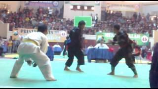 PENCAK SILAT Final kelas A putra POLRES CUP M.Fauzi (kab.malang) vs Amri wibisono (surabaya)