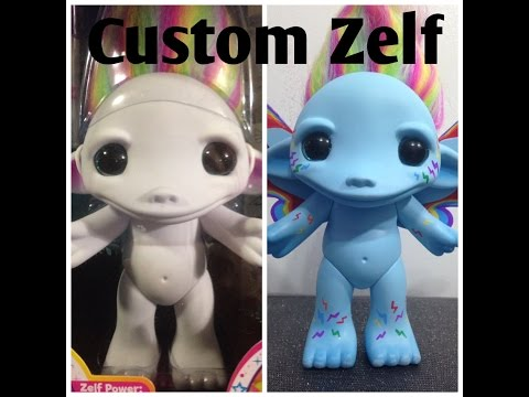 Custom Zelfs - Rainbow Power Rainbow Dash Part 1 & My Little Pony Custom