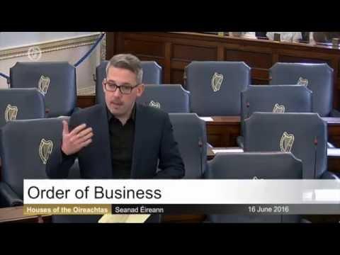 Senator Niall Ó Donnghaile raises Loughinisland massacre in Seanad