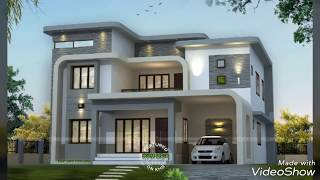 100 Modern house exterior wall design   Home elevation ideas 2019 catalogue
