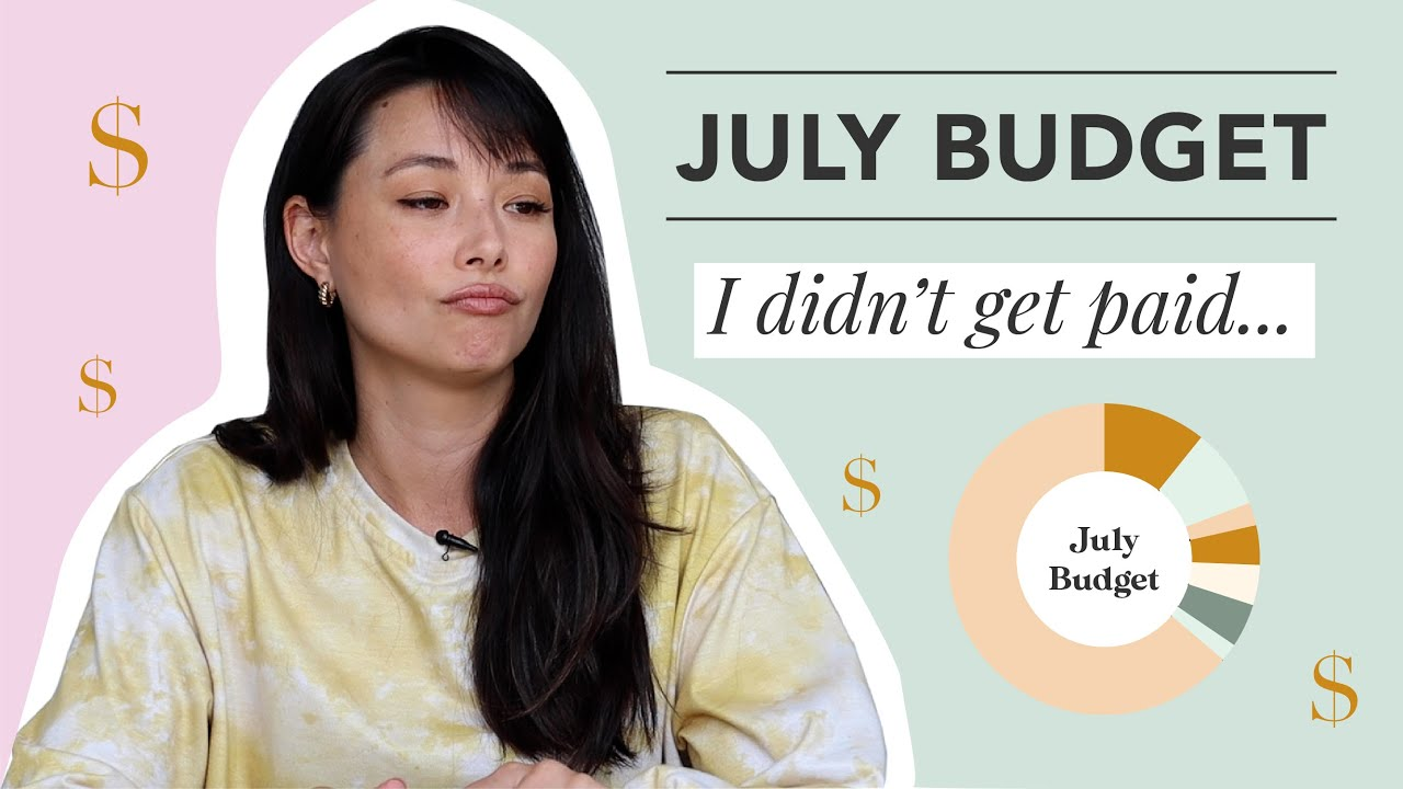 A Cash Cushion Saved Me | July/August Budget Overview | Aja Dang