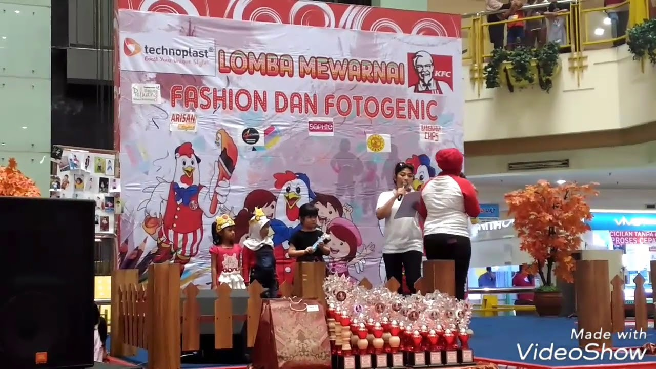 Mall Taman Palem Kfc Coloring Competition Aug 13 2017