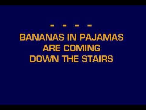CB5079 03 24 Children's Songs Bananas In Pajamas [Karaoke]