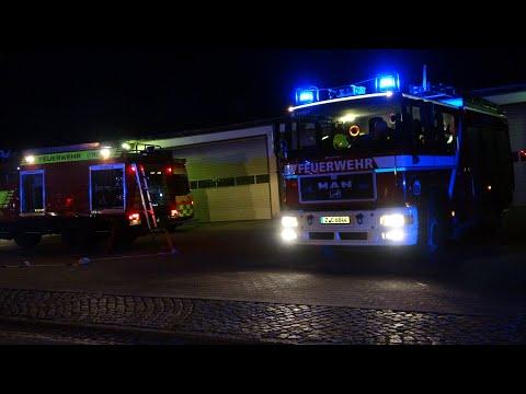 Wohnungsbrand In Polizeidienststelle Mülsen (Zwickau)
