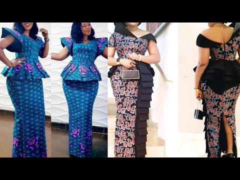 African Fashion : 2020 Ankara Styles ||  Aso ebi Styles || Ankara Styles for Women