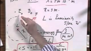 8.02x - Module 12.02 - Spherical EM Waves - Luminosity - Energy Flux