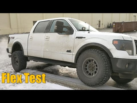 Disconnecting Sway Bar On F-150: Articulation Comparison