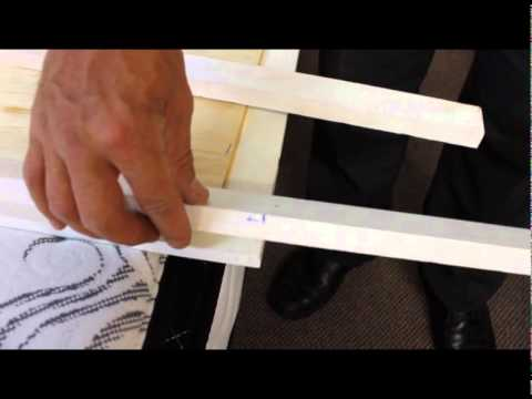 Bracket Assembly for Dresser Mirror Supports