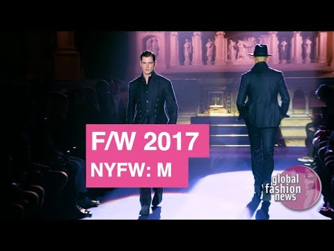 Joseph Abboud Fall / Winter 2017 Interview Highlights | Global Fashion News