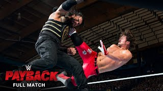 FULL MATCH - Roman Reigns vs. AJ Styles - WWE Title Match: WWE Payback 2016