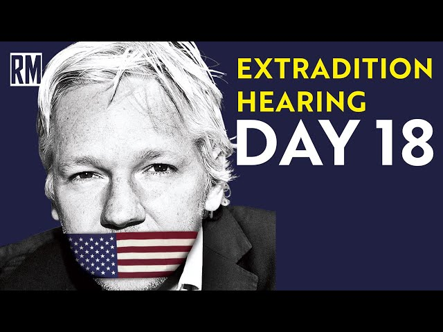 End of Witness Statements in Assange Extradition