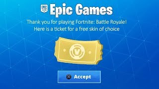 *RAPID* AS WE CAN ALL GET ANY FREE SKIN ON FORTNITE!!!